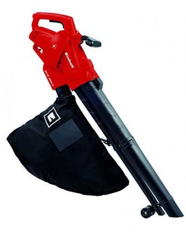 Einhell 3433300 GC-EL 2500 E - Aspirador-Soplador Eléctrico, Saco de 40L, Regulador de Velocidad, 7000 - 13500 rpm, 2500 W, 2