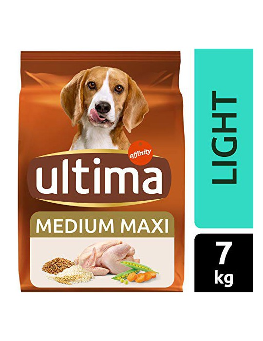 ultima Pienso para Perros Medium-Maxi Light con Pollo - 7 kg