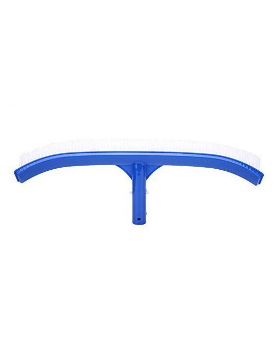 Fdit Cepillo de Limpieza para Piscinas de plástico de 18 Pulgadas con Clips EZ diseñado para Limpiar Suministros de Limpieza